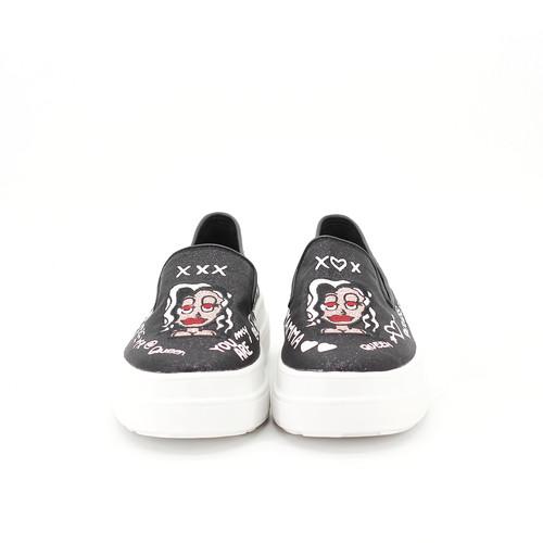 S/S 2020春夏 女士休闲鞋 82167W 黑色