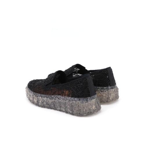 S/S 2021春夏 女士休闲鞋 86077W 黑色