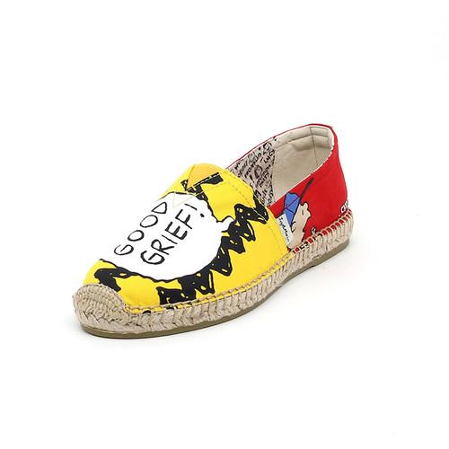 S/S 2020春夏 女士史努比联名款渔夫鞋 01900W 黄色