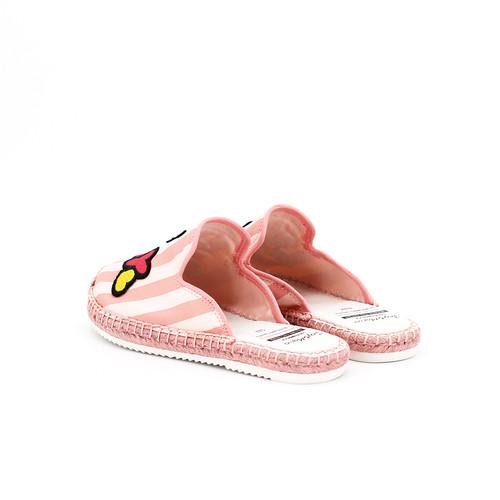 S/S 2020春夏 童鞋哆啦A梦联名款拖鞋  01856C 粉红色