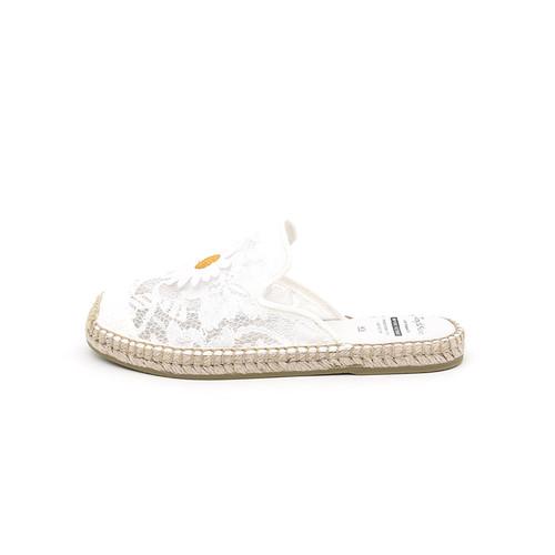 S/S 2020春夏 女士穆勒休闲拖鞋01901W 白色
