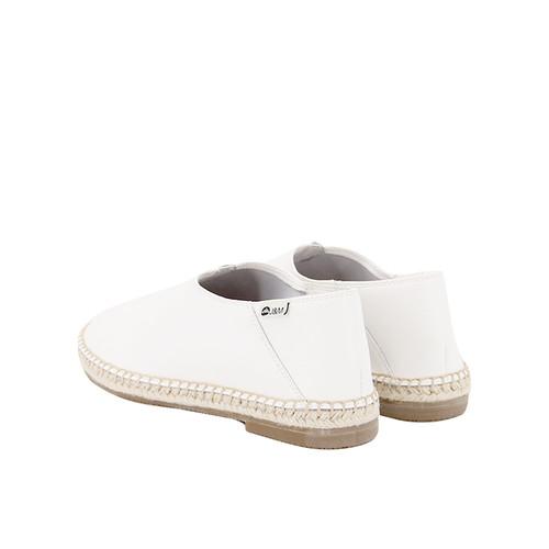 S/S 2020秋冬 女士齐踝⿇底短靴 GY003W 白色