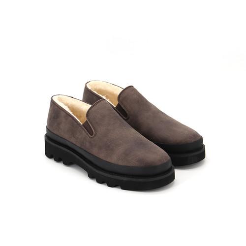 S/S 2020秋冬 男士休闲鞋 72158M 棕色