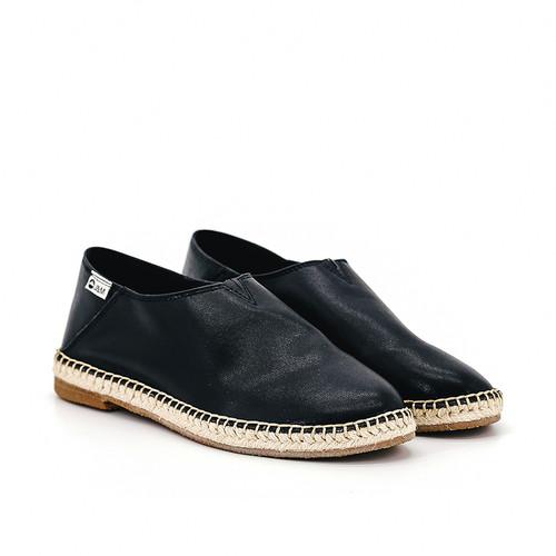 S/S 2020秋冬 女士齐踝⿇底短靴 GY003W 黑色