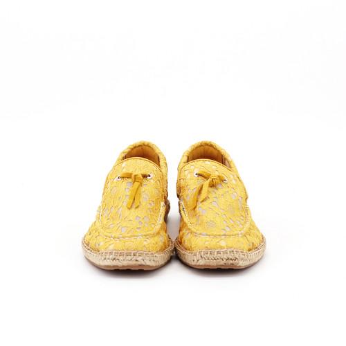 S/S 2020春夏 女士麻底休闲鞋 01871W 黄色