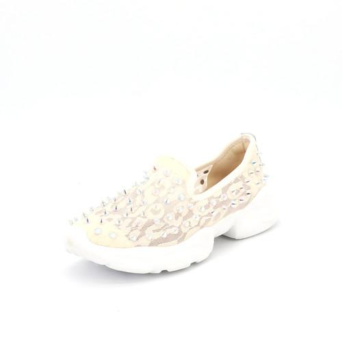 S/S 2021春夏 女士休闲鞋 76137W 米白色