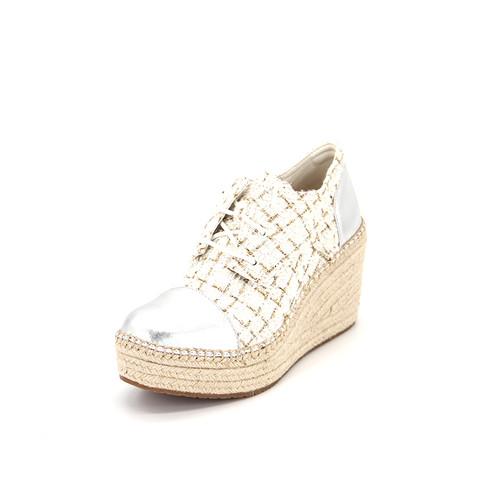 S/S 2020秋冬 女士休闲鞋 88068W 米白色