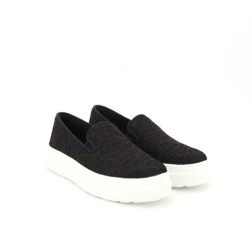 S/S 2021春夏 女士休闲鞋 82186W 黑色