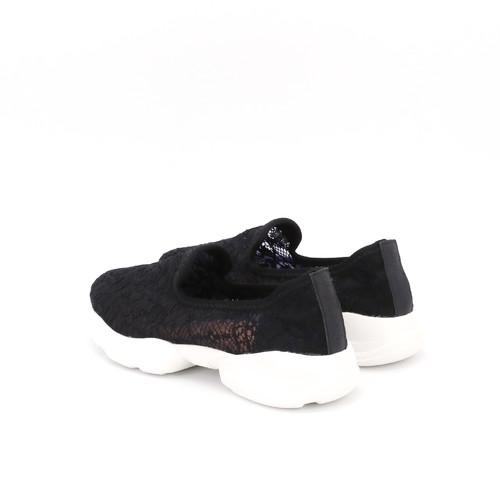 S/S 2021春夏 女士休闲鞋 76135W 黑色