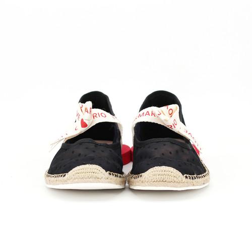 S/S 2020春夏 女士蝴蝶结休闲鞋 01851W 黑色