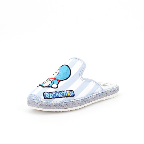 S/S 2020春夏 童鞋哆啦A梦联名款拖鞋  01856C 蓝色