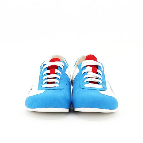 S/S 2020春夏 女士哆啦A梦联名休闲鞋 91031W 蓝色