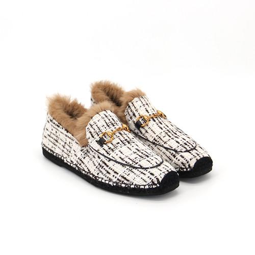 S/S 2020秋冬 女士休闲鞋 01915W 米白色