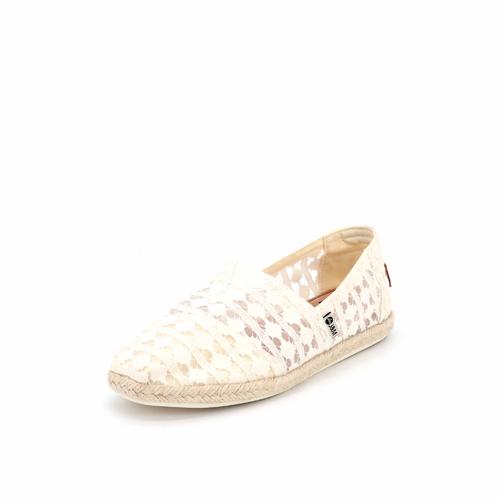 S/S 2021春夏 女士休闲鞋 62255W 米白色