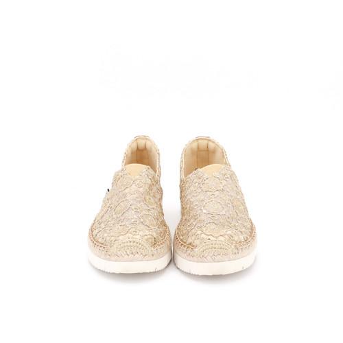 S/S 2021春夏 女士休闲鞋 52077W 金色