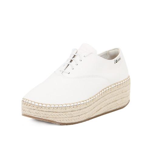 S/S 2020秋冬 女士齐踝⿇底短靴 GY005W 白色