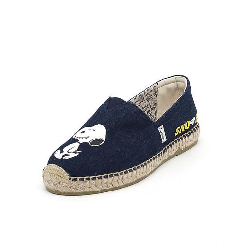 S/S 2020春夏 女士史努比联名款渔夫鞋 01897W 深蓝色