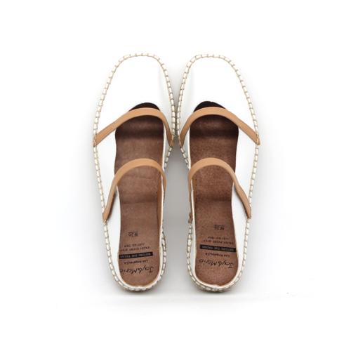 S/S 2020春夏 女士休闲凉拖鞋 01896W 白色