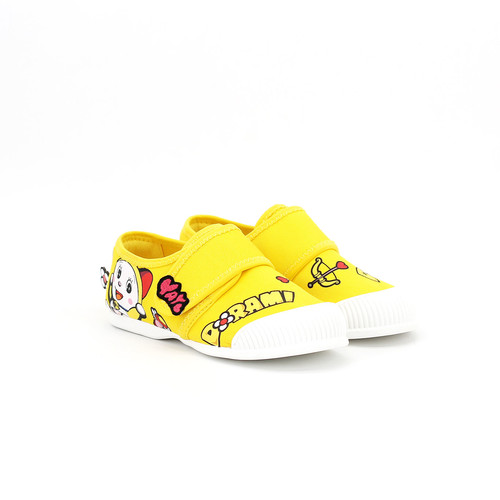 S/S 2020春夏 童鞋哆啦A梦联名款休闲鞋  63192C 黄色
