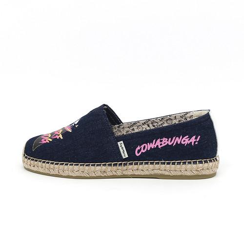 S/S 2020春夏 女士史努比联名款渔夫鞋 01898W 深蓝色