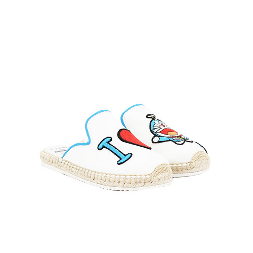 S/S 2020春夏 童鞋哆啦A梦联名款拖鞋  01857C 白色