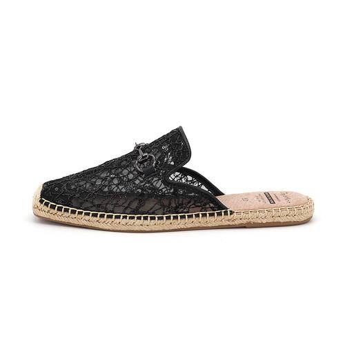 S/S 2020春夏 女士休闲凉拖鞋 01833W 黑色