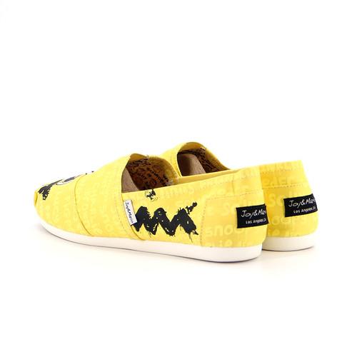 S/S 2020春夏 女士史努比联名款布鞋 62220W 黄色
