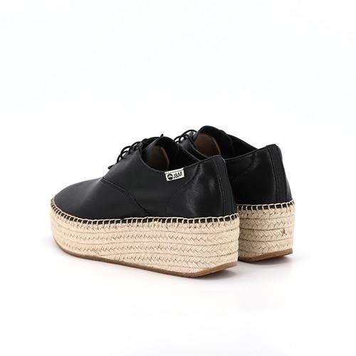S/S 2020秋冬 女士齐踝⿇底短靴 GY005W 黑色