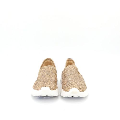 S/S 2021春夏 女士休闲鞋 76136W 金色