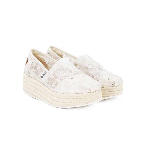 S/S 2020春夏 女士休闲鞋 81199W 米白色