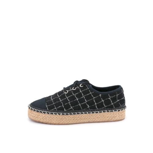 S/S 2021春夏 女士休闲鞋 85023W 黑色