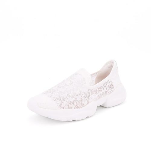 S/S 2021春夏 女士休闲鞋 76135W 白色