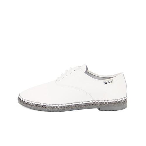 S/S 2020秋冬 女士齐踝⿇底短靴 GY007W 白色