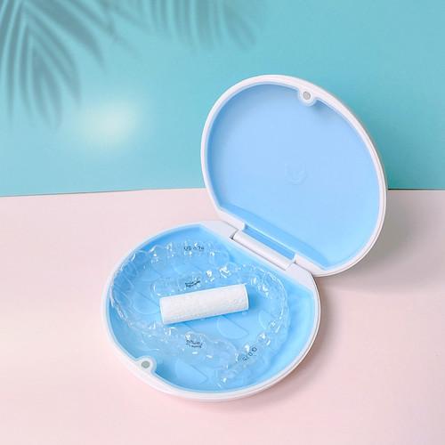 微笑公式小圆盒-牙套收纳盒