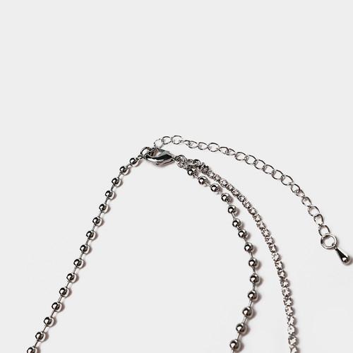 XL32615-珍珠十字架项链