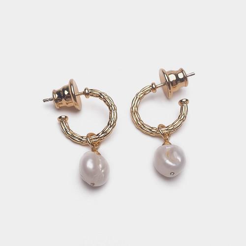 EH30249-BX2天然珍珠耳环