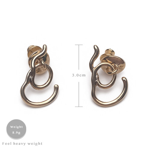 EH63086-E147简约线条耳环
