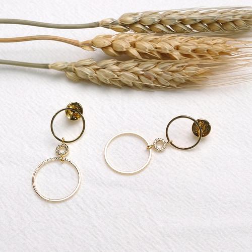EH63030-E149圈圈长款耳环