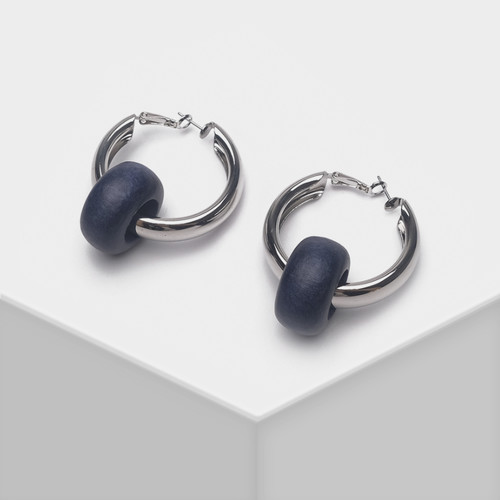 ·EH63540-E149夸张彩色圈圈耳环