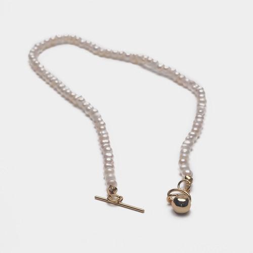 XL62809-G190叠带利器珍珠颈链