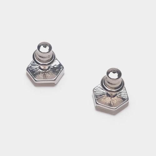 EH63332-E149五边形男女同款耳钉