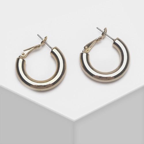 EH63317-E149简约金属圈耳环