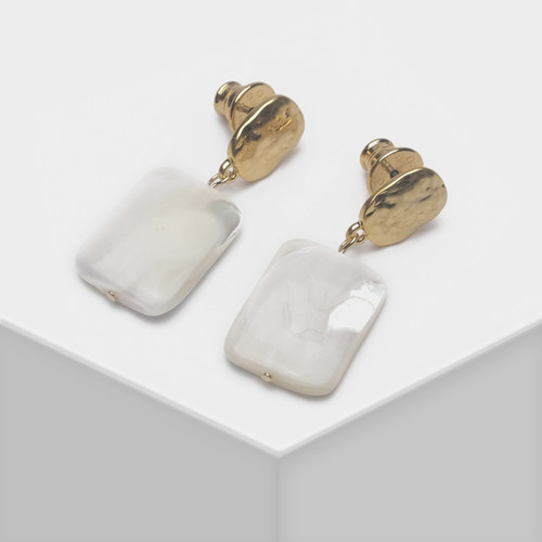 EH63485-E147贝壳材质耳环