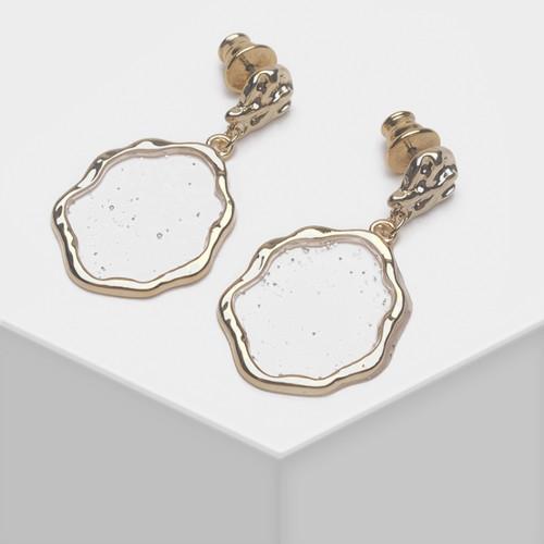 EH63350-E147不规则亚克力耳环
