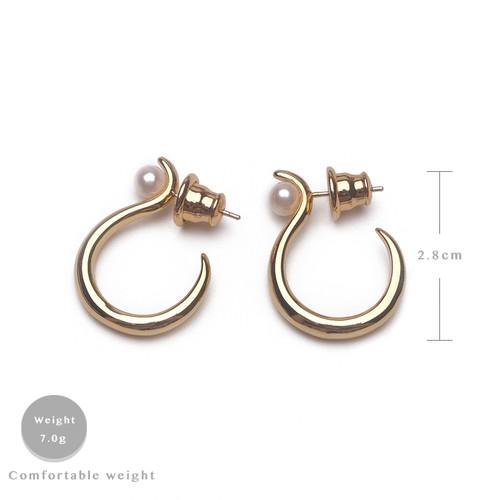 EH30272-3-5极简半圈气质耳环