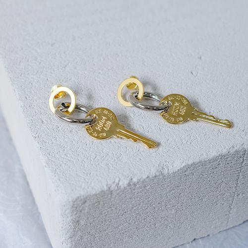 EH63104E145钥匙耳坠耳环