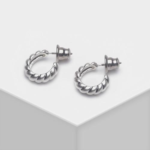 EH63444-E149简约半圈金属耳环