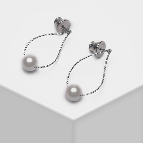 EH63497-E148简约珍珠耳环