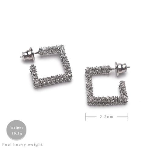 EH63375-E148几何质感耳环