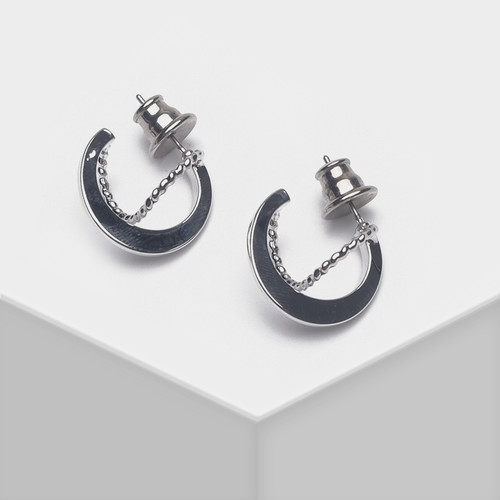 EH63493-E147简约圆圈耳环